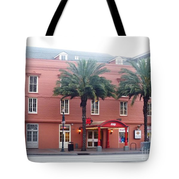 Tote Bag featuring the photograph Arby's At Dawn by Alys Caviness-Gober