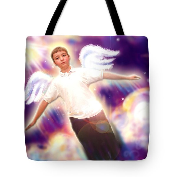 Archer. Angelic 5 Tote Bag