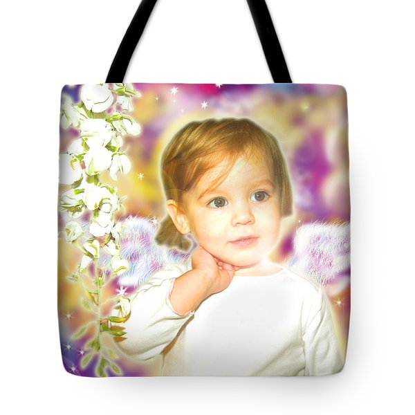 Archer.angelic 3 Tote Bag