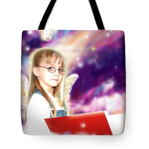 Archer.angelic Tote Bag