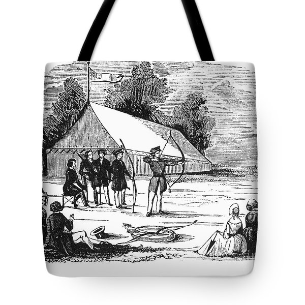 Archery, C1830 Tote Bag by Granger