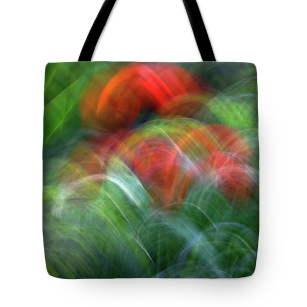 Arches Of Flowers Tote Bag