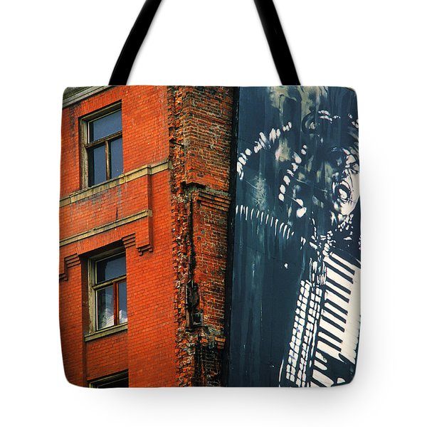 Architecture Calgary Tote Bag by Bob Christopher
