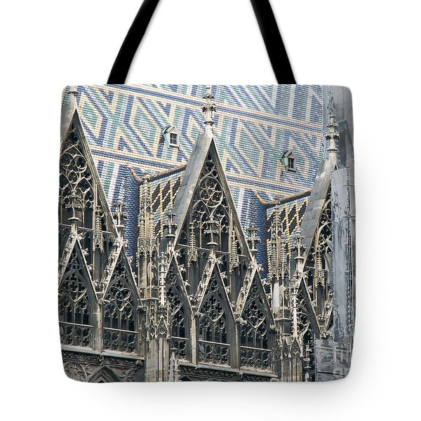 Architecture Of Vienna Tote Bag by Evgeny Pisarev