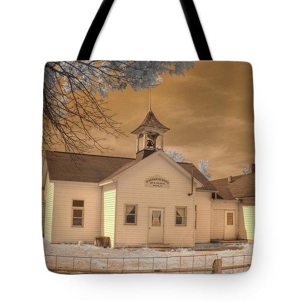 Arcola Illinois School Tote Bag by Jane Linders