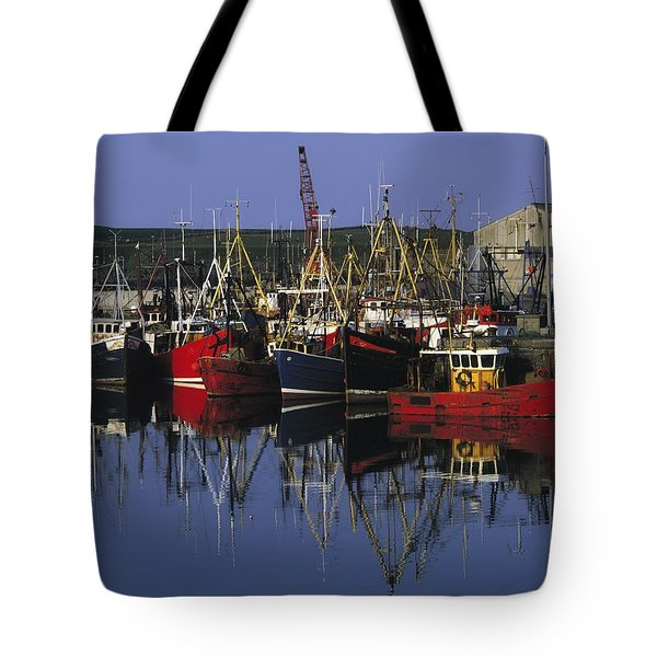 Ardglass, Co Down, Ireland Fishing Tote Bag by The Irish Image Collection