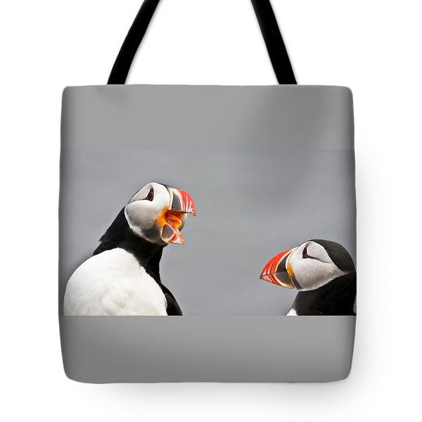 Are You Listening To Me Tote Bag