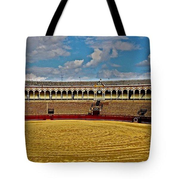 Arena De Toros - Sevilla Tote Bag
