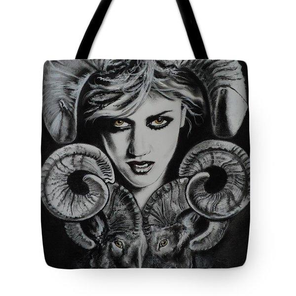 Aries The Ram Tote Bag