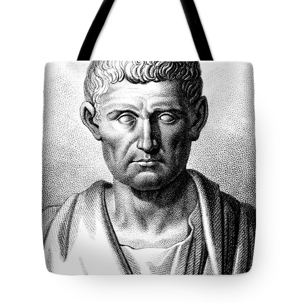 Aristotle, Ancient Greek Polymath Tote Bag by Science Source