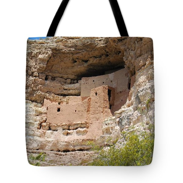 Arizona Cliff Dwellings Tote Bag