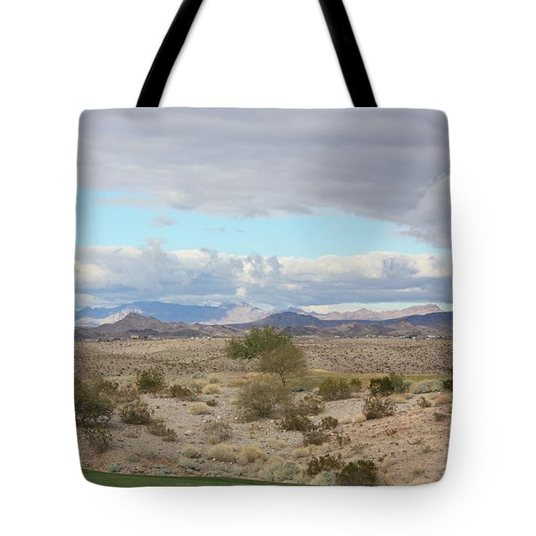 Arizona Desert View Tote Bag