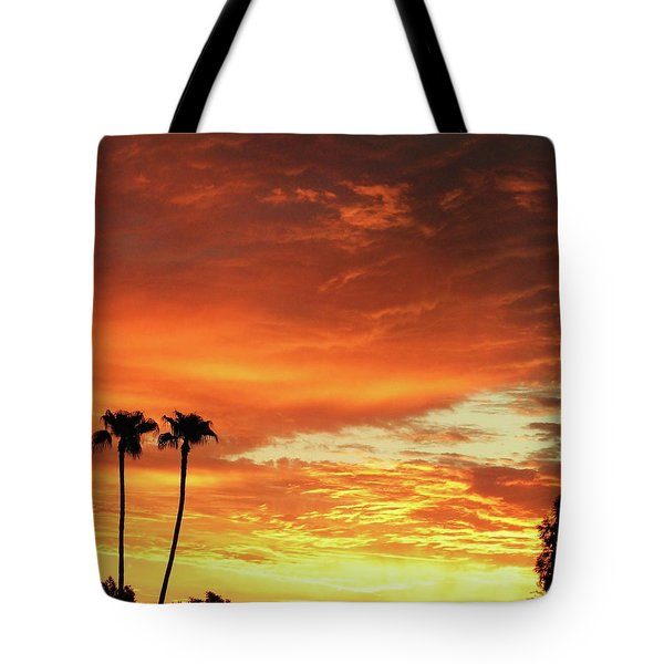 Arizona Sunrise 02 Tote Bag by Rand Swift