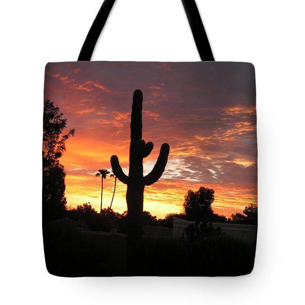 Arizona Sunrise 03 Tote Bag by Rand Swift