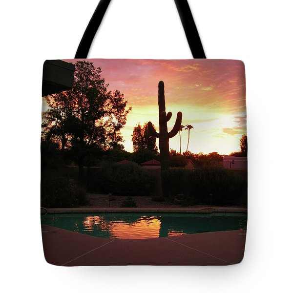 Arizona Sunrise 04 Tote Bag by Rand Swift
