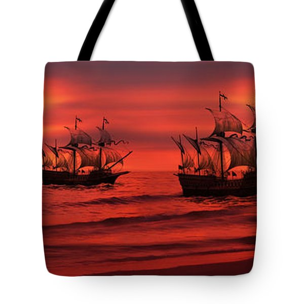 Armada Tote Bag by Lourry Legarde