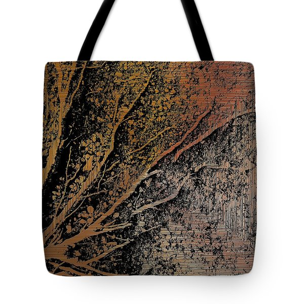 Arms Of Life Tote Bag by Tim Allen