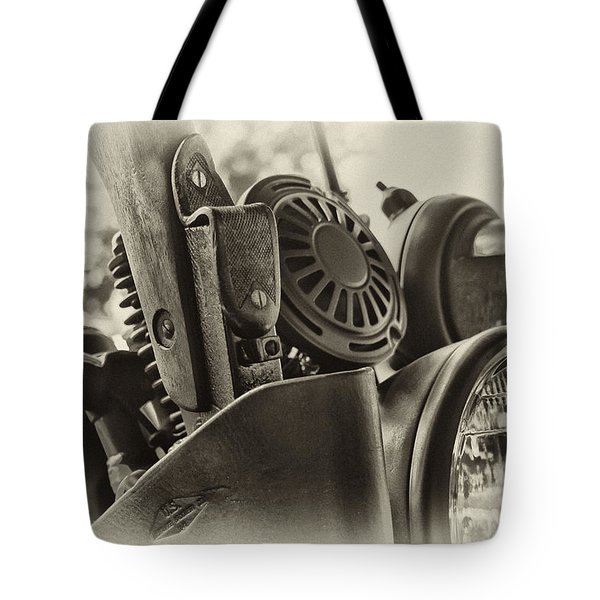 Army Motorcycle Tote Bag