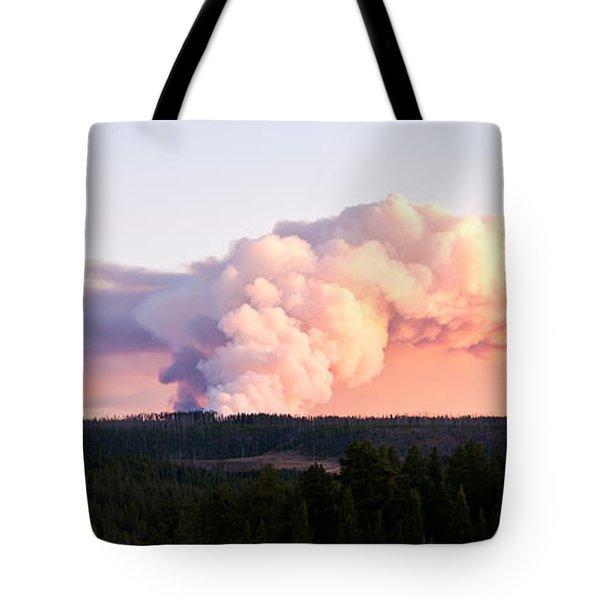 Arnica Fire Tote Bag by Bob and Nancy Kendrick
