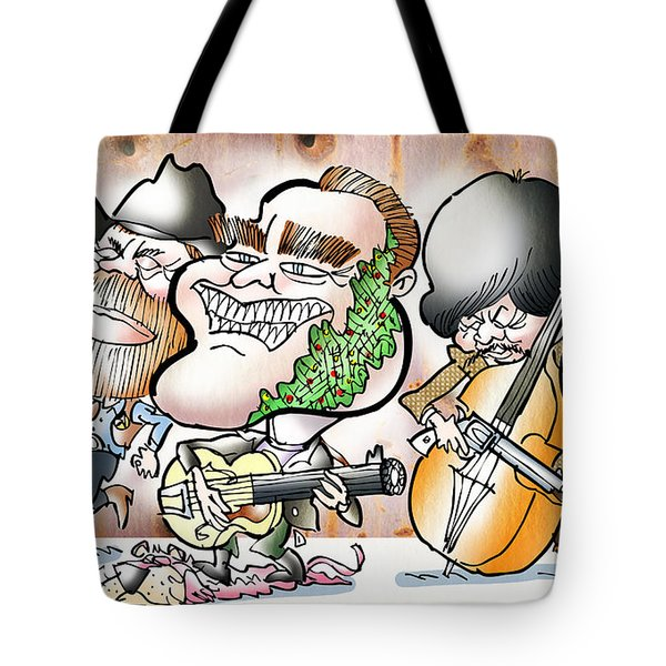 Arnold And The Terminators Tote Bag