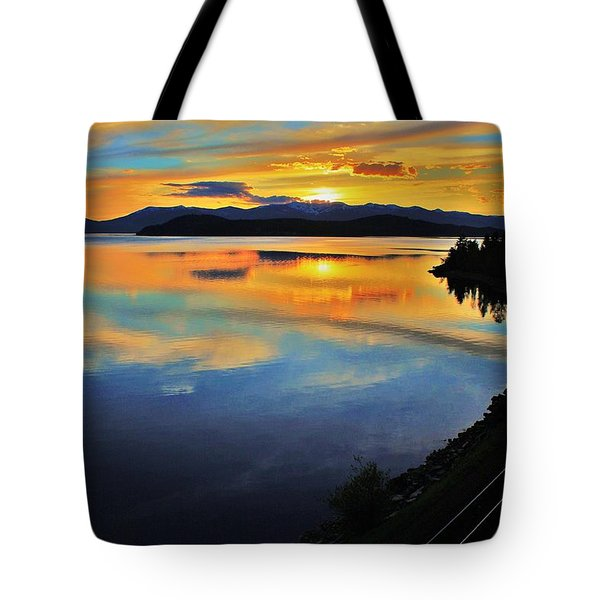 Around The Bend Tote Bag by Benjamin Yeager
