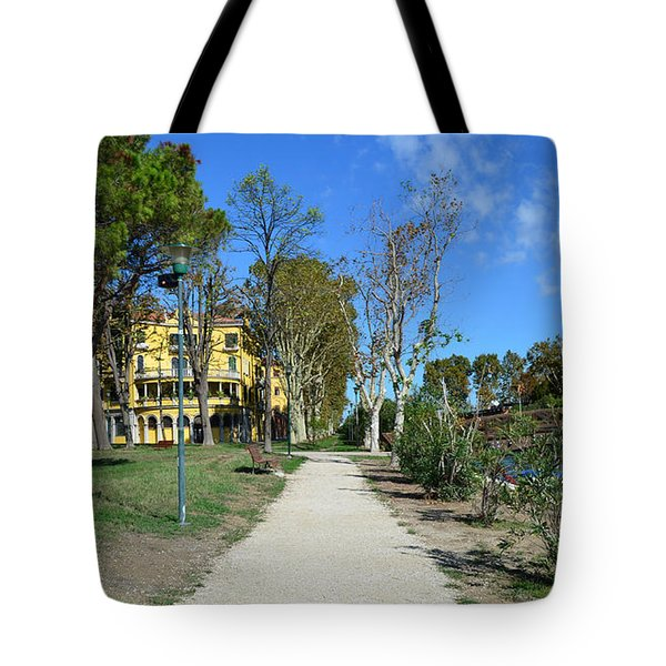 Tote Bag featuring the photograph Arsenale by Barbara Walsh