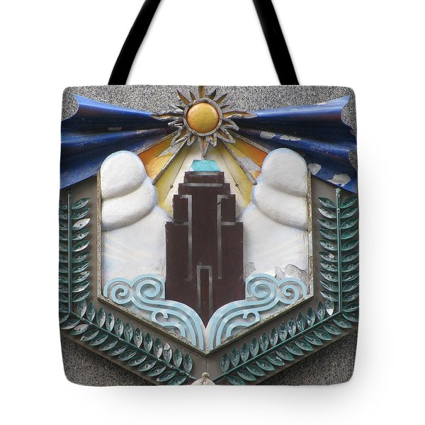 Art Deco Detail Tote Bag