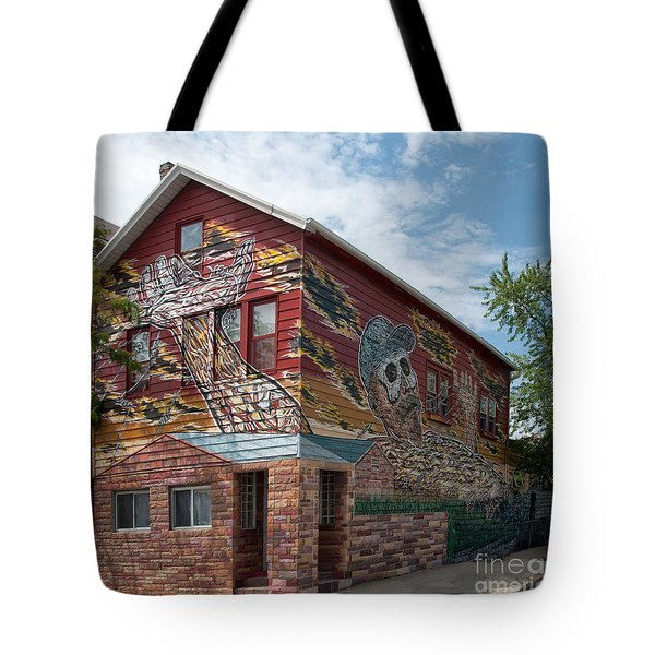 Art House South Chicago Mural Tote Bag