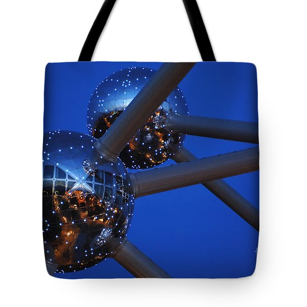 Art In Architecture 3 Tote Bag by Bob Christopher