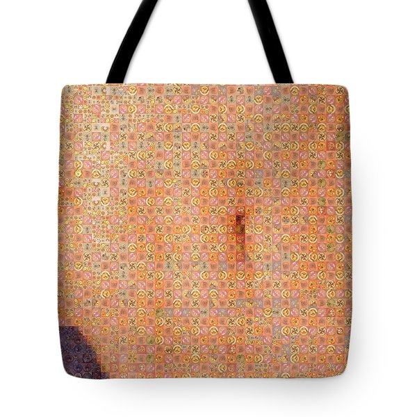 Art In The Middle Tote Bag