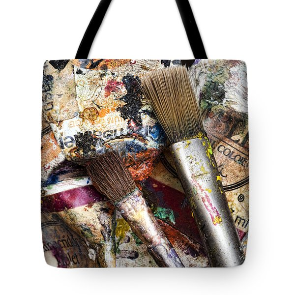 Art Is Messy 1 Tote Bag by Carol Leigh