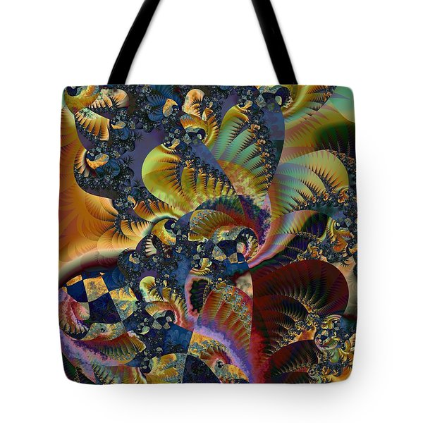 Art Of Confusion Tote Bag by Kim Redd