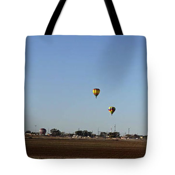 Artesia's Balloon And Bluegrass Festival Tote Bag