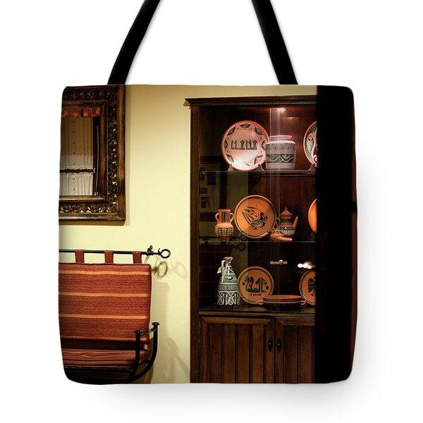 Tote Bag featuring the photograph Artful Doorway by Lorraine Devon Wilke