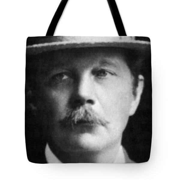 Arthur Conan Doyle, Scottish Author Tote Bag by Science Source