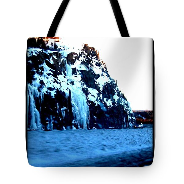 Tote Bag featuring the photograph Artic Jewel  by Danielle  Parent