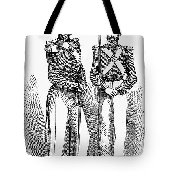 Artillery Company, 1855 Tote Bag by Granger