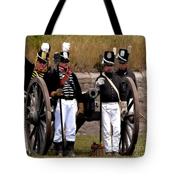 Tote Bag featuring the photograph Artillery by JT Lewis