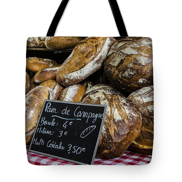 Artisan Bread Tote Bag