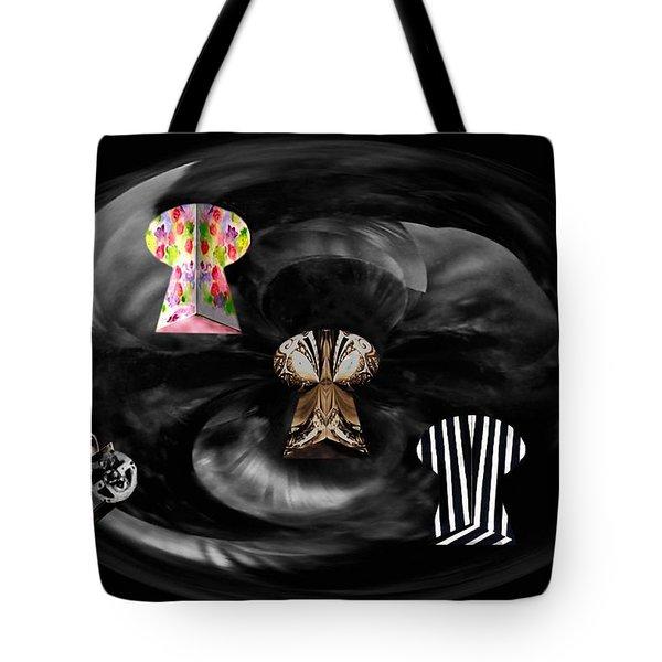 Artist Color Scheme Lockup Tote Bag