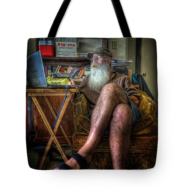 Artist In Repose Tote Bag
