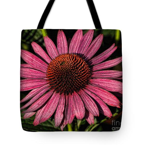 Artistic Coneflower Tote Bag