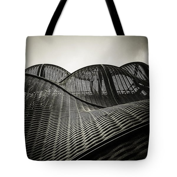 Artistic Curves Tote Bag