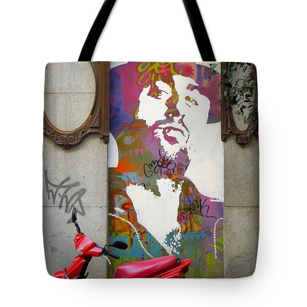 Artistic Words Tote Bag by KD Johnson