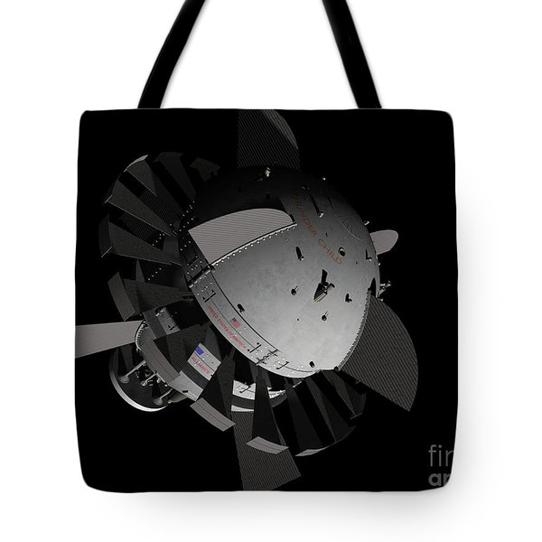 Artists Concept For An Orion-drive Tote Bag by Rhys Taylor