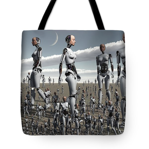 Artists Concept Of An Abundance Tote Bag by Mark Stevenson