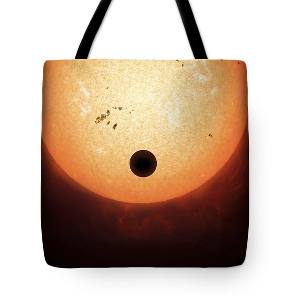 Artists Concept Of An Earth-sized Tote Bag by Fahad Sulehria