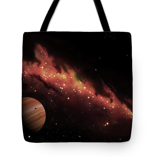 Artists Concept Of An H II Region Tote Bag by Brian Christensen