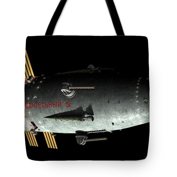 Artists Concept Of An Orion-drive Tote Bag by Rhys Taylor