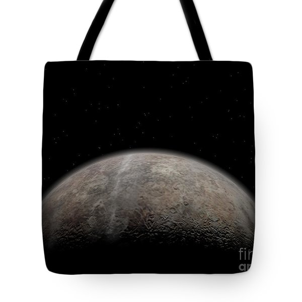 Artists Concept Of Pluto Tote Bag by Walter Myers